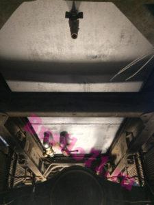 Гидробак со сливными и заборными кранами на гидропривод манипулятора и буровой