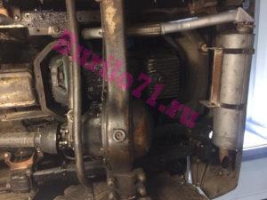 Выхлопная Газ 3309 с Д-245 выенсеная вперед под бампер автобуровой