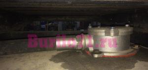 Сливной фильтр в самодельном гидравлическом баке автобуровой